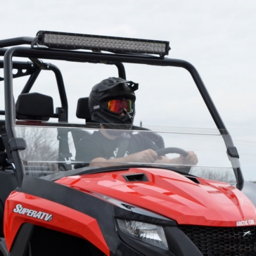 Super ATV Demi pare-brise Arctic cat