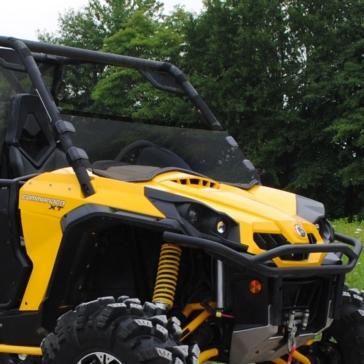 SUPER ATV Demi pare-brise Avant - Can-am - Polycarbonate