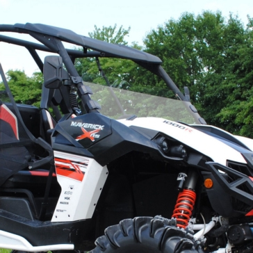 SUPER ATV Demi pare-brise Avant - Can-am - Polycarbonate Makrolon® AR