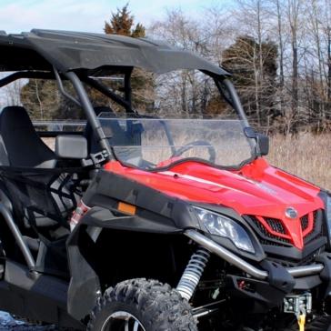 SUPER ATV Demi pare-brise Avant - CFMoto - Polycarbonate