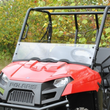 SUPER ATV Demi pare-brise Avant - Polaris - Polycarbonate
