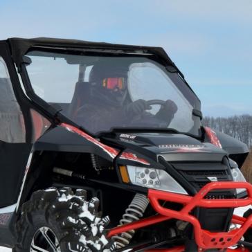 SUPER ATV Full Windshield Front - Arctic cat - Polycarbonate