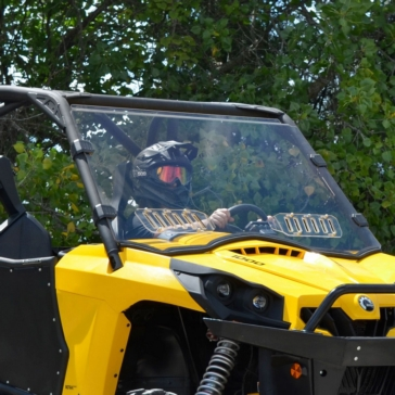 Super ATV Pare-brise complet ventilé Avant - Can-am - Polycarbonate