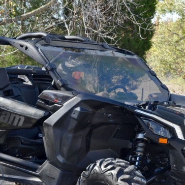 SUPER ATV Pare-brise complet Avant - Can-am - Polycarbonate Makrolon® AR