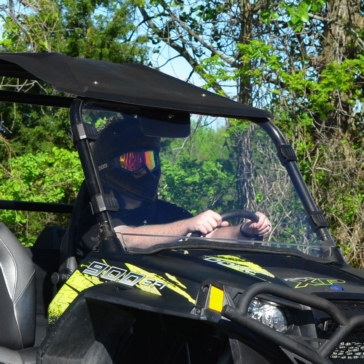 Super ATV Full Windshield Fits Polaris
