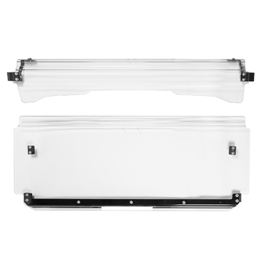 Super ATV Flip windshield Front - Honda - Makrolon® AR Polycarbonate