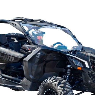 SUPER ATV Pare-brise complet Avant - Can-am - Polycarbonate