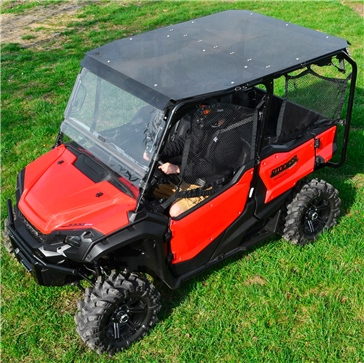 Fits Honda Pioneer 1000-5 Canvas Soft Top Roof 5 Seater Dragonfire Racing 2016-2019