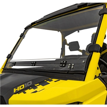 Super ATV Full Windshield - Vented Fits Can-am