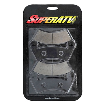 SUPER ATV Brake Pad Copper - Front, Rear