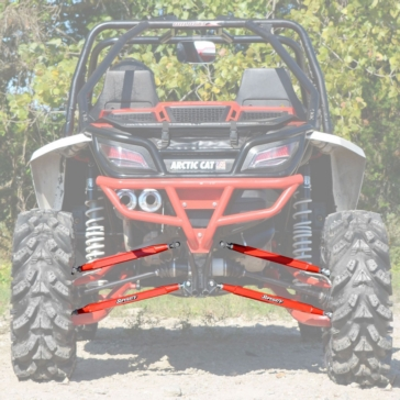 Super ATV Boxed Radius Arms Fits Arctic cat