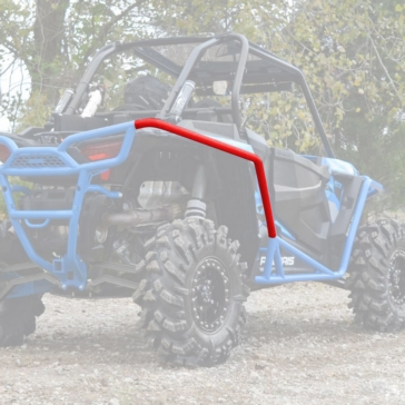 Super ATV Protecteur d'aile Polaris - 315247