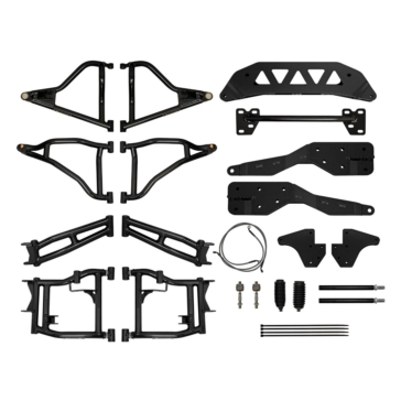 SUPER ATV Ensemble complet de conversion RZR à RZR S +5""