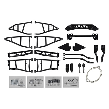 "Super ATV Big Lift Kit Fits Polaris - +7"" à 10"""