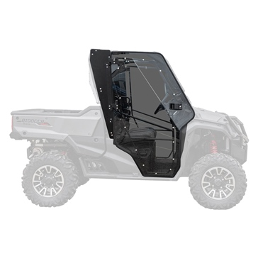 Super ATV Full Cab Enclosure Door Fits Honda - UTV - Complete door
