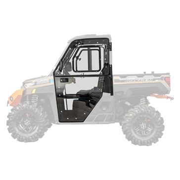 Super ATV Glazed Door Fits Polaris - UTV - Complete door