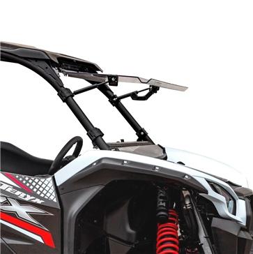 Super ATV Pare-brise à bascule haut Kawasaki