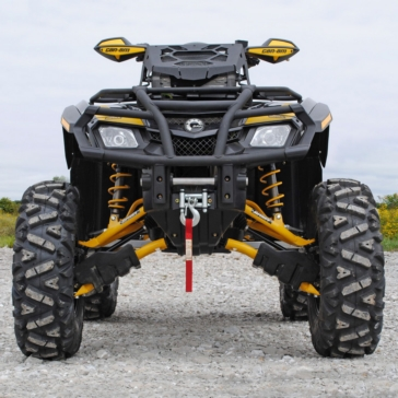 SUPER ATV Large Lift Kit +4""