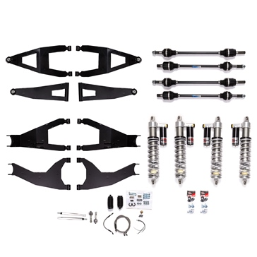 Super ATV Lift Kit Long Travel 6'' Kawasaki - +6""