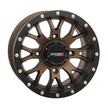 SYSTEM 3 OFF-ROAD ST-3 UTV Wheel 18x7 - 4/110 - 4+3