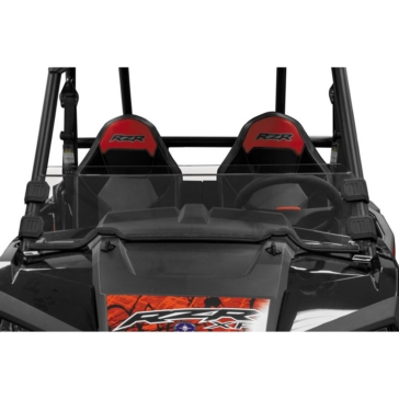 Dragon Fire Racing Demi pare-brise Opt X Avant - Polaris - Polycarbonate