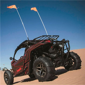 Dragon Fire Racing Fouet lumineux télécommandé à DEL
