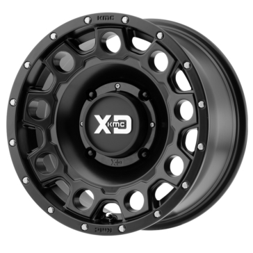 KMC XD WHEELS XS129 Holeshot Wheel 15x7 - 4/137 - +10 mm