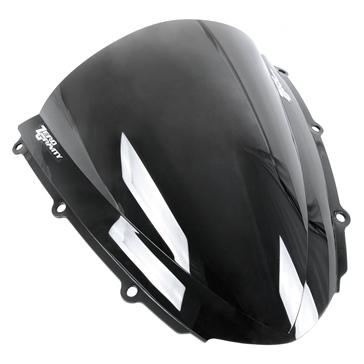 ZERO GRAVITY Double Bubble Windscreen Front - Yamaha - Acrylic Plastic