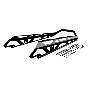 ITEK Bumper Powdercoat Series Rear - Fits Ski-doo