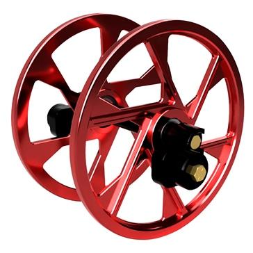 ITEK Ensemble de grandes roues anodisées Aluminium - Ski-doo