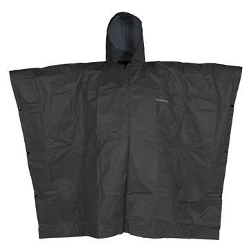 Compass360 Sport-Lite Rain Poncho with Stuff Sack Men - Solid Color