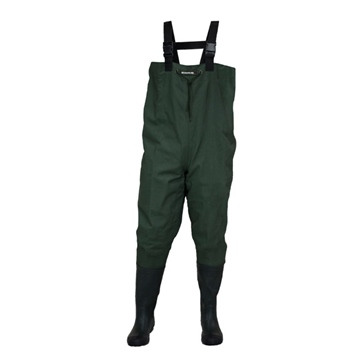 Compass360 Oxbow Rubber Chest Wader with cleated