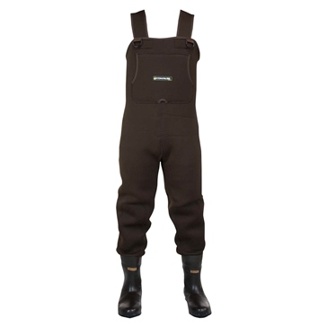 Compass360 Rogue Rubber Chest Wader with cleated