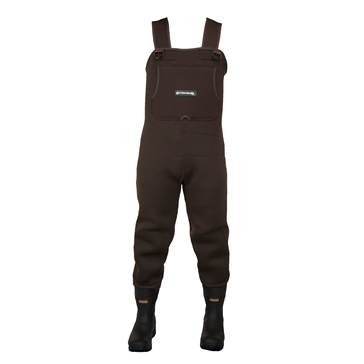 Compass360 Rogue Rubber Chest Wader with Felt Sole