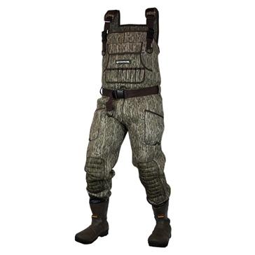 Compass360 Bottes-pantalon en caoutchouc jusqu'à la poitrine Duratek