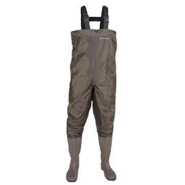 Compass360 Bottes-pantalon jusqu'à la poitrine Windward avec semelle cloutée