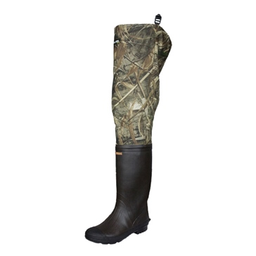Compass360 Oxbow Rubber Hip Boots with cleated