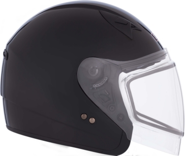 CKX VG977 Open-Face Helmet, Winter Solid
