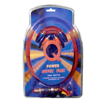 MTX AUDIO Câblage d'amplificateur Q Power Super Flex,