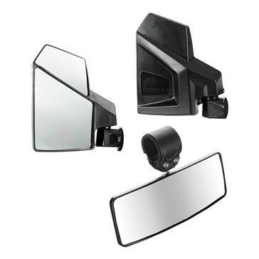 "Kolpin UTV Mirror Kit 2"" Clamp-On"
