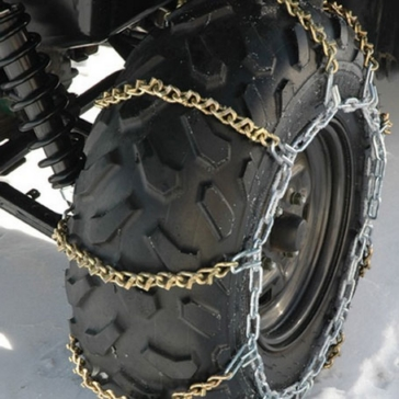 Kolpin V-Bar Tire Chains - Size C 10""