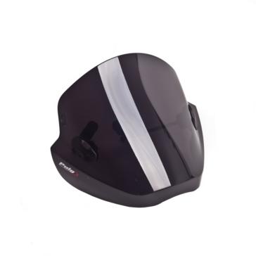 PUIG Stream Windshield Front - Honda, Kawasaki, Suzuki, Yamaha, BMW, Triumph, Aprilia, Ducati, Kymco, MV Agusta - High Impact Acrylic