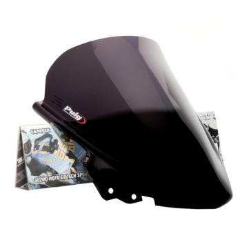 PUIG Racing Windshield Front - Aprilia - High Impact Acrylic