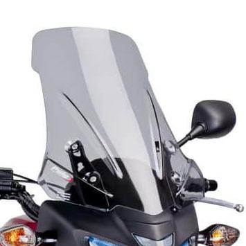 PUIG Racing Windshield Front - Honda - High Impact Acrylic