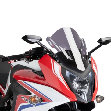 PUIG Racing Windshield Front - Honda - High Impact Acrylic