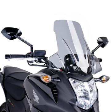 PUIG Touring Windshield Front - Honda - High Impact Acrylic