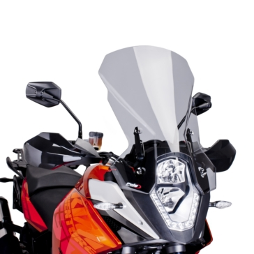 PUIG Touring Windshield Front - KTM - High Impact Acrylic