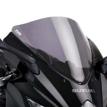 PUIG Standard Windshield Front - Suzuki - High Impact Acrylic