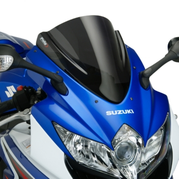 PUIG Z-Racing Windshield Front - Suzuki - High Impact Acrylic