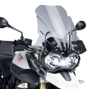PUIG Touring Windshield Front - Triumph - High Impact Acrylic